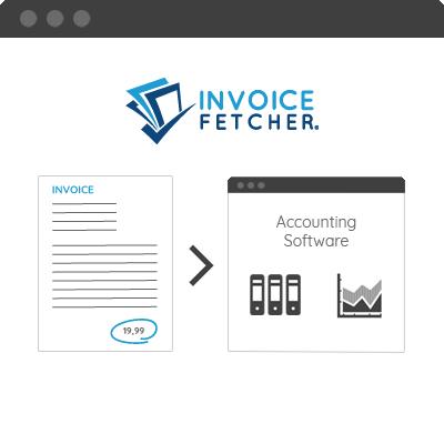 Pick up, organise and archive online invoices regularly and