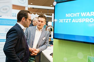 invoicefetcher® presentation at Cebit 2017, Photo by Andreas Herz