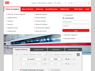 Deutsche Bahn Firmenkunden