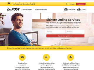 get my invoice from Deutsche Post EPOST (Transport and logistics)