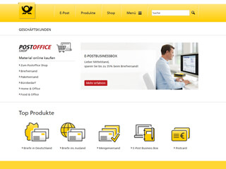 get my invoice from Deutsche Post Postoffice Geschäftskunden (Transport and logistics)