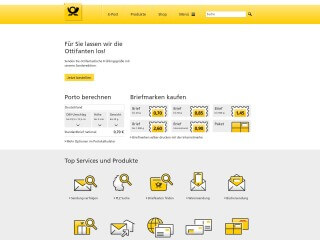 get my invoice from Deutsche Post Shop (Transport and logistics)