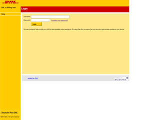 get my invoice from DHL e-Billing hub (Transport and logistics)