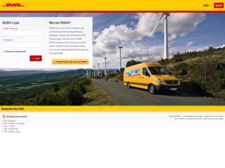 get my invoice from DHL MyBill (Transport and logistics)
