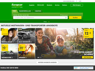 get my invoice from Europcar (Transport and logistics)