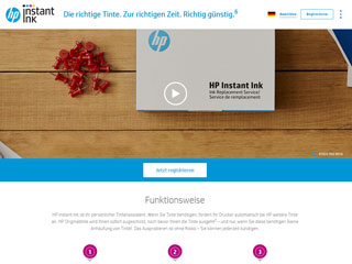 get my invoice from HP Instant Ink