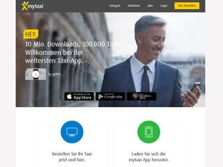 myTaxi Unternehmerportal