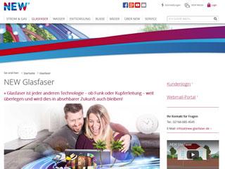 NEW Online Glasfaser
