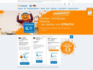 get my invoice from Strato (Internet and IT)