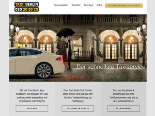 get my invoice from Taxi Berlin Unternehmerportal (Transport and logistics)