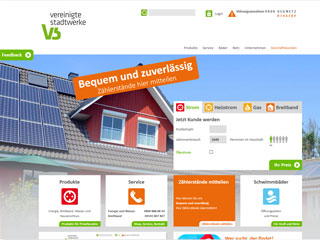 get my invoice from Vereinigte Stadtwerke (Energy, water and environment)